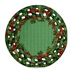Holly Ornament - Ornament (Round Filigree)