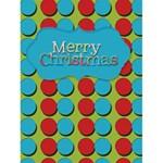 polka dot christmas - Greeting Card 4.5  x 6