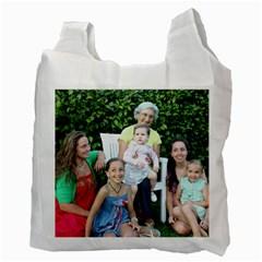 Bolsa/2 Lados By Teresa Valcarce   Recycle Bag (two Side)   Wkzobgiytkg3   Www Artscow Com Back