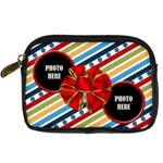 Rockin  Around the Christmas Tree Camera Bag 1 - Digital Camera Leather Case