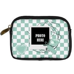 Watch Me Grow Boy Camera Case 1 By Lisa Minor   Digital Camera Leather Case   2uixaijv65jy   Www Artscow Com Front