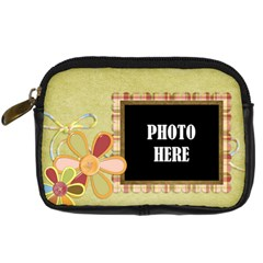 Primavera Camera Case 2 By Lisa Minor   Digital Camera Leather Case   Irgj4j9lu3u6   Www Artscow Com Front