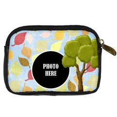 Primavera Camera Case 2 By Lisa Minor   Digital Camera Leather Case   Irgj4j9lu3u6   Www Artscow Com Back