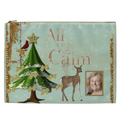 All Is Calm Xxl Cosmetics Bag By Catvinnat   Cosmetic Bag (xxl)   7f39g7m262h5   Www Artscow Com Front