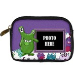 Monster Party Camera Bag 2 - Digital Camera Leather Case