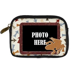 Junior Camera Case 2 By Lisa Minor   Digital Camera Leather Case   6qn8ayaz1crf   Www Artscow Com Front