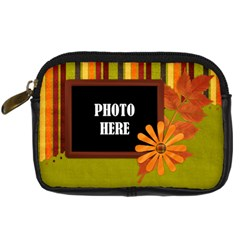 Autumn s Glory Camera Case 2 By Lisa Minor   Digital Camera Leather Case   Nem5201wgmfl   Www Artscow Com Front