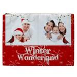 Winter Wonderland 2  XXL Cosmetics Bag - Cosmetic Bag (XXL)