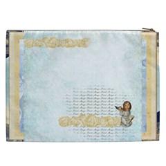 Little Cherub  Xxl Cosmetics Bag By Catvinnat   Cosmetic Bag (xxl)   Kzaehvykfpk0   Www Artscow Com Back
