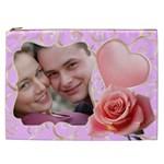Pink Sweet Love Cosmetic Bag XXL - Cosmetic Bag (XXL)