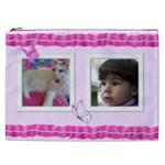 Pretty Pink Cosmetic Bag XXL - Cosmetic Bag (XXL)