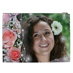 My Little Rose Cosmetic Bag Xxl By Deborah   Cosmetic Bag (xxl)   M156s98qx8gu   Www Artscow Com Back