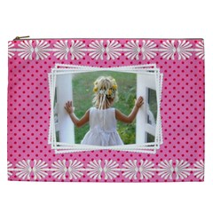 Little Lady Cosmetic Bag Xxl By Deborah   Cosmetic Bag (xxl)   Grn2qrjo5iqq   Www Artscow Com Front