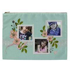 Cosmaetic Bag (xxl)   Sweet Bianca By Jennyl   Cosmetic Bag (xxl)   Cfc3mg98tpjs   Www Artscow Com Front