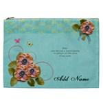 Cosmaetic Bag (XXL) - Flowers Bloom - Cosmetic Bag (XXL)