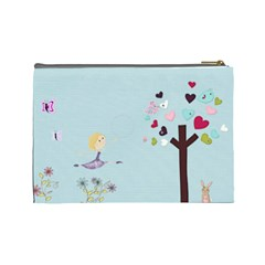 Cosmetic Bag By Kate   Cosmetic Bag (large)   C7gw71vbvyd5   Www Artscow Com Back
