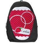 Strawberries Backpack 01 - Backpack Bag