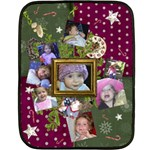 Shabby Christmas Vol1 - Mini Fleece Blanket (2sides) - Double Sided Fleece Blanket (Mini)