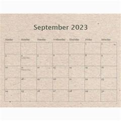 Fantasia Fab1 Classic Pink Frame 2015 Calendar By Catvinnat   Wall Calendar 11  X 8 5  (12 Months)   Z61edxrdesmj   Www Artscow Com Sep 2015