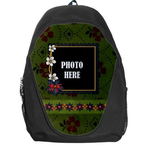 Gypsy Fall Backpack 1 By Lisa Minor   Backpack Bag   J9850a5cx4rv   Www Artscow Com Front
