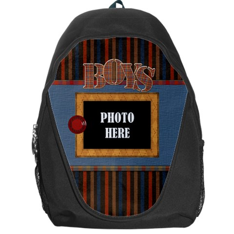 The Boys Of Fall Backpack By Lisa Minor   Backpack Bag   B7iv6k4l3rzd   Www Artscow Com Front