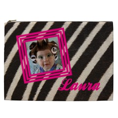 Laura   Cosmetic Bag Xxl By Carmensita   Cosmetic Bag (xxl)   E94gcwuj3ulp   Www Artscow Com Front