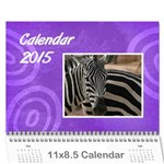 Calendar 2015 - Wall Calendar 11  x 8.5  (12-Months)