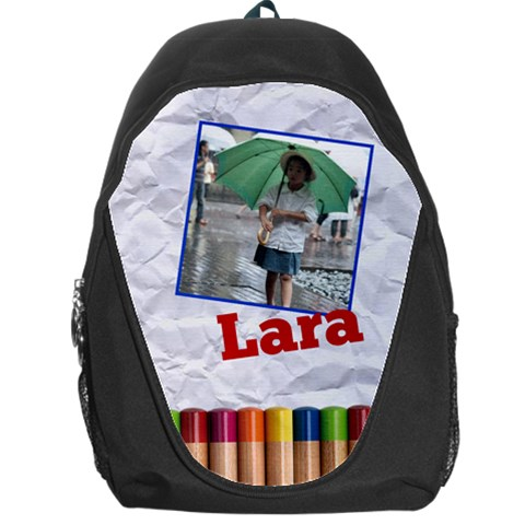 Pencils   Backpack Bag  By Carmensita   Backpack Bag   Tt00kmrjk0u4   Www Artscow Com Front
