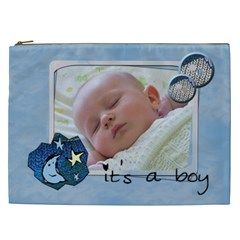 It s A Boy   Cosmetic Bag Xxl By Carmensita   Cosmetic Bag (xxl)   2ou9au3y0lkz   Www Artscow Com Front