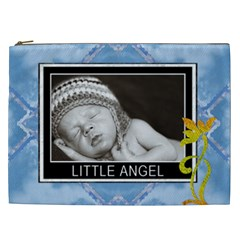 Little Angel Xxl Cosmetic Bag By Lil    Cosmetic Bag (xxl)   I5wvv5cqbsss   Www Artscow Com Front
