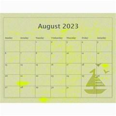 Calendar 2015 By Carmensita   Wall Calendar 11  X 8 5  (12 Months)   6tbnyq5smdtc   Www Artscow Com Aug 2015