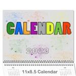 MY CALENDAR 2015 - Wall Calendar 11  x 8.5  (12-Months)