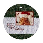 Merry Christmas  -  Ornament - Ornament (Round)