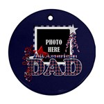 Dad Ornament 2 - Ornament (Round)