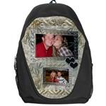 Silver Love Backpack - Backpack Bag