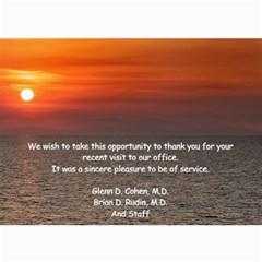 Thank You By Nancy   5  X 7  Photo Cards   35dz308o3goh   Www Artscow Com 7 x5 Photo Card - 10