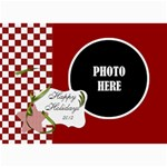Christmas Clusters 5x7 Greeting Card 1 - 5  x 7  Photo Cards