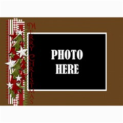Christmas Clusters 5x7 Greeting Card 2 By Lisa Minor   5  X 7  Photo Cards   H2ugmd74vx1h   Www Artscow Com 7 x5 Photo Card - 2