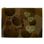 I Heart You gold Love2 Cosmetic Case XXL - Cosmetic Bag (XXL)