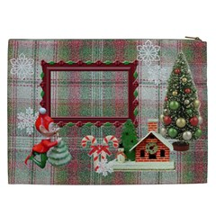 Santa Brought Us The Best Present In 2012 Gift Bag Xxl By Ellan   Cosmetic Bag (xxl)   L6fyssngc76p   Www Artscow Com Back