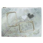 Wedding White Love Gift Bag  XXL - Cosmetic Bag (XXL)