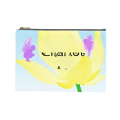 Cosmetic Bag By Kate   Cosmetic Bag (large)   Lehxmvon01e9   Www Artscow Com Front