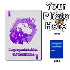 Departamento De Matemáticas By Matematicaula   Playing Cards 54 Designs   Pbuyvyrkti9o   Www Artscow Com Front - Spade8