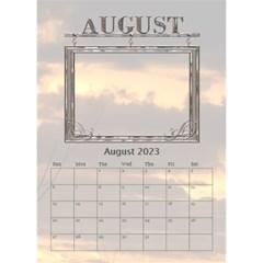 Sunset Desktop Calendar 6 x8 5  By Lil    Desktop Calendar 6  X 8 5    24rfiv9a0h4l   Www Artscow Com Aug 2015