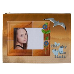 Inspirational Xxl Cosmetic Bag By Lil    Cosmetic Bag (xxl)   2ymvgt73kg7d   Www Artscow Com Front