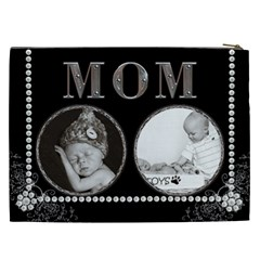 Mom Xxl Cosmetic Bag By Lil    Cosmetic Bag (xxl)   M9g31zyf3lxz   Www Artscow Com Back