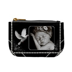 Pretty Black Mini Coin Purse By Lil    Mini Coin Purse   Q8g8ructonpp   Www Artscow Com Front