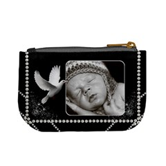 Pretty Black Mini Coin Purse By Lil    Mini Coin Purse   Q8g8ructonpp   Www Artscow Com Back