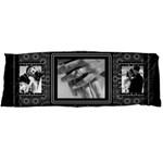 Black and White Body Pillow Case - Body Pillow Case (Dakimakura)