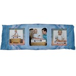 Pretty Blue Body Pillow Case - Body Pillow Case (Dakimakura)